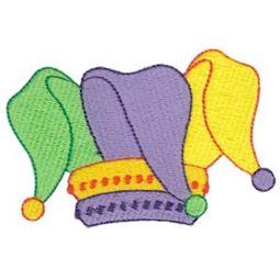Filled Stitch Jesters Hat