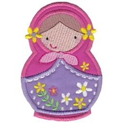 Matryoshka Applique 1