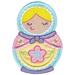Matryoshka Applique 10