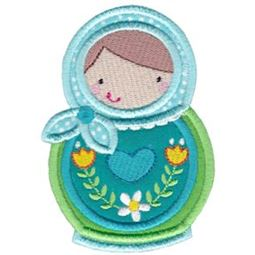 Matryoshka Applique 2