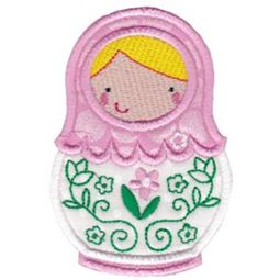 Matryoshka Applique 5