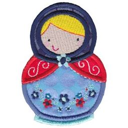 Matryoshka Applique 6