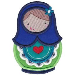 Matryoshka Applique 7