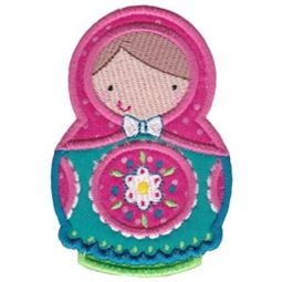 Matryoshka Applique 8
