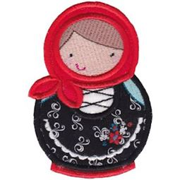Matryoshka Applique 9