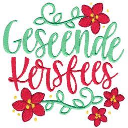 Geseende Kersfees (Afrikaans)