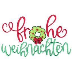 Frohe Weihnachten (German)