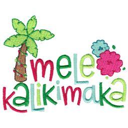 Mele Kalikimaka (Hawaiian)