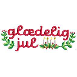 Glaedelig Jul (Danish)