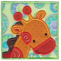 Monkey Friends Applique Blocks 4