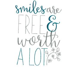 Smile Are Free And Worth A Lot