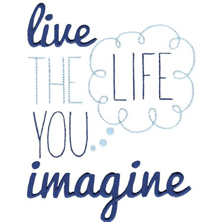 Live The Life You Imagine