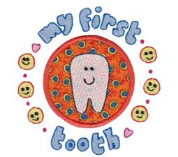 First Tooth Applique