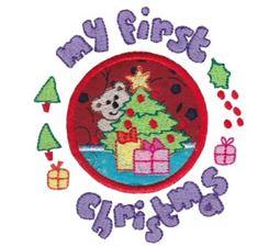 First Christmas Applique