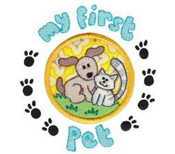 First Pet Applique