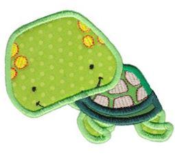 Ocean Sea Turtle Applique