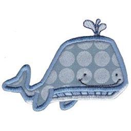 Ocean Whale Applique