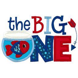 The Big One Applique