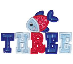 Three Fish Applique