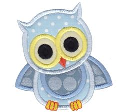Baby Blue Owl