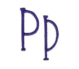 Pajama Jam Font P
