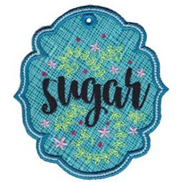 Sugar ITH Pantry Label