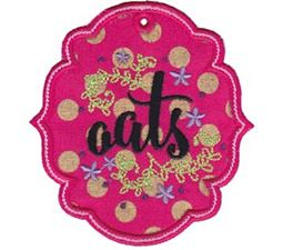 Oats ITH Pantry Label
