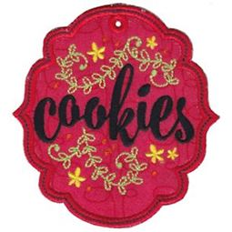 Cookies ITH Pantry Label