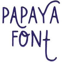 Papaya Font