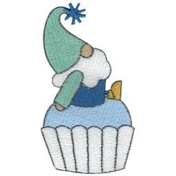 Cupcake Boy Gnome