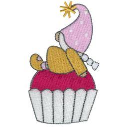 Cupcake Girl Gnome