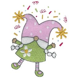 Celebrate Girl Gnome