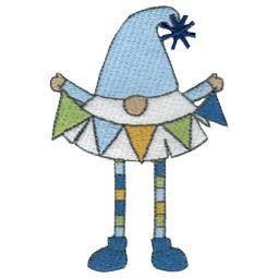 Birthday Banner Boy Gnome