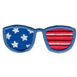 Applique Patriotic Sunglasses