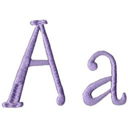 Quirky Girl Alphabet A