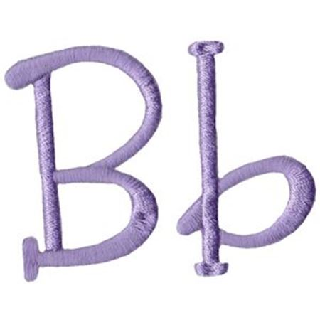 Quirky Girl Alphabet B