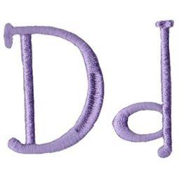 Quirky Girl Alphabet D