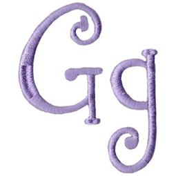 Quirky Girl Alphabet G