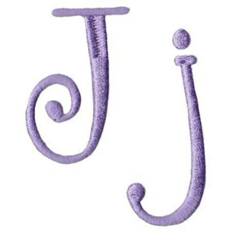 Quirky Girl Alphabet J