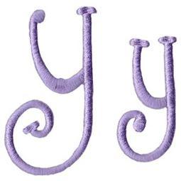 Quirky Girl Alphabet Y