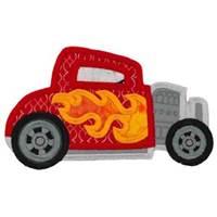 Race Cars Applique 5x7