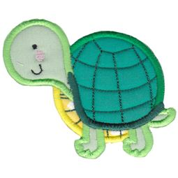 Round Turtle Applique