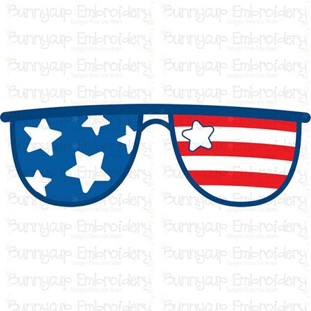 Patriotic Sunglasses SVG