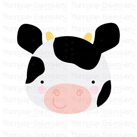 Adorable Animal Faces Cow