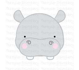 Adorable Animal Faces Hippo