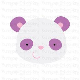 Adorable Animal Faces Panda