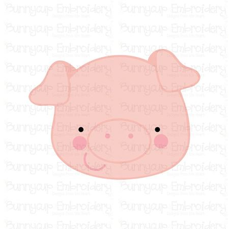 Adorable Animal Faces Pig