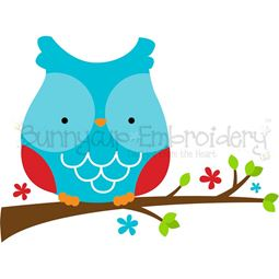 Adorable Owls 11 SVG