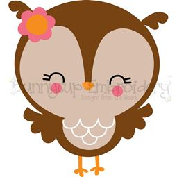 Adorable Owls 12 SVG