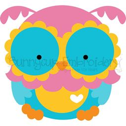 Adorable Owls 3 SVG